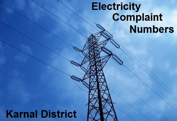 Electricty Complaint Numbers